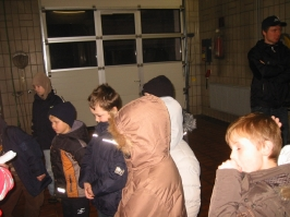 Besuch beim DRK 08.01.2010
