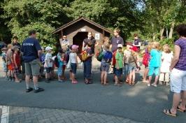 Besuch Kreisjugendfeuerwehr Zeltlager 03.07.2009