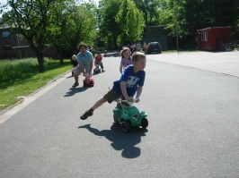 Bobbycar Rennen 21.05.2010