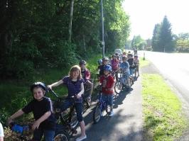 Fahrradtour mit Stockbrot backen 04.06.2010