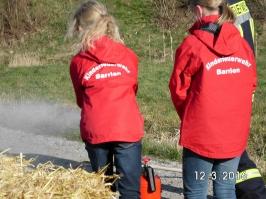 KF-Flamme in Barrien 12.03.2016