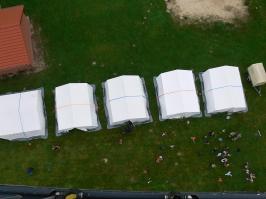 Zelten in Gessel 13.08.2016